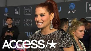Lady Gaga Crashes Debra Messing's Critics' Choice Awards Interview! | Access
