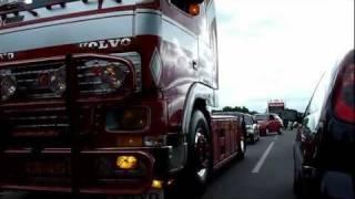 Scania & Volvo van Weeda Transport