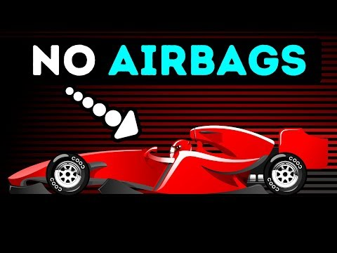 Why Formula 1 Cars Don't Have Airbags