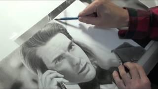 Tom Cruise / Ethan Hunt  ★鉛筆画(Pencil Drawing)