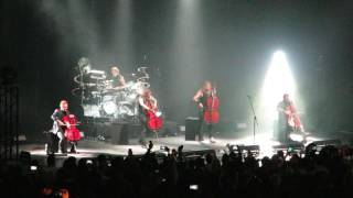 Apocalyptica - Nothing Else Matters (live in Crocus City Hall, Moscow, 23.04.2017)