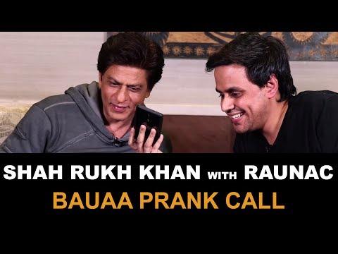 Bauaa   Shah Rukh Khan   Bauua Singh   Prank Call   Zero   Baua