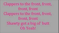 Clappers- Wale Ft. Nicki Minaj and Juicy J.- LYRICS ON SCREEN