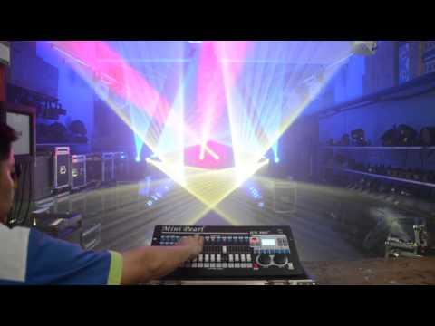 JUN PRO Mini Pearl  DMX controller with sharpy Beam 230 Double prism # stage lighting