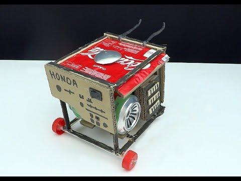 Evde Mini Jeneratör Yapımı, Jeneratör Nasıl Yapılır?Mini Generator