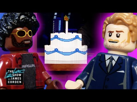 What Was Inside James Corden's Birthday Cake?!