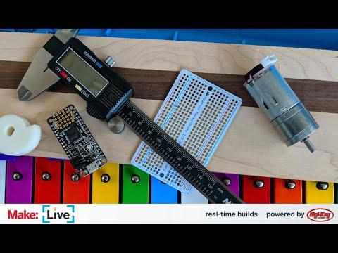 Make: Live — Robo-Glockenspiel