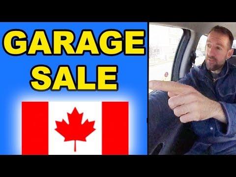 Garage Sale In Canada