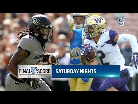 Washington Huskies vs Colorado Buffaloes updates: Live score, TV channel & how to watch live stream