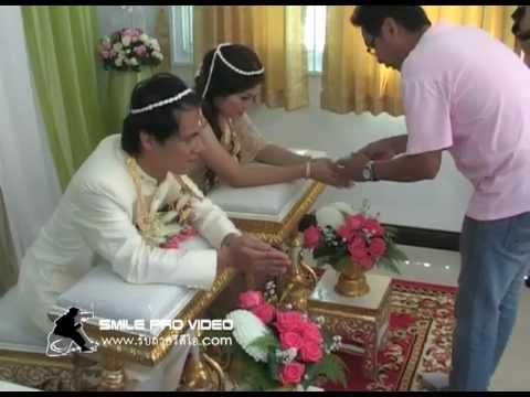 งานแต่งงาน Nam Num รดน้ำสังข์