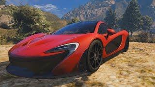 GTA V McLaren P1 Mod Showcase!