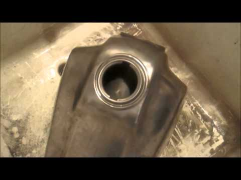 How to RESTORE and COAT a FUEL TANK.