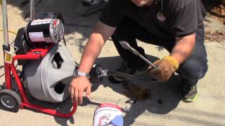 Ridgid K-400 Autofeed | Demonstration Drain Sewer Snake