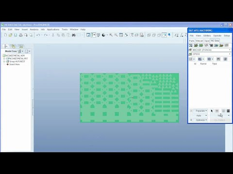 Introduction to Pro/ENGINEER NC Sheetmetal - PTC