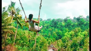 БАЛИ | Новая Вилла в Убуде | Неадекватные ОБЕЗЬЯНЫ | Bali swing | Monkey forest