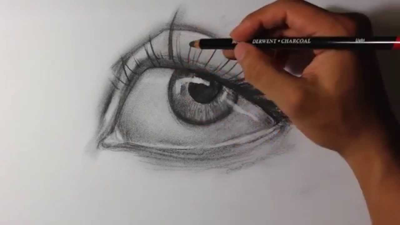 Intro to charcoal drawing easy things to draw youtube