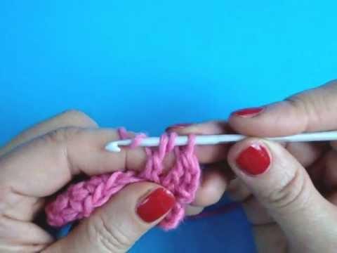 Вязание крючком Урок 255 Полустолбик с двумя накидами