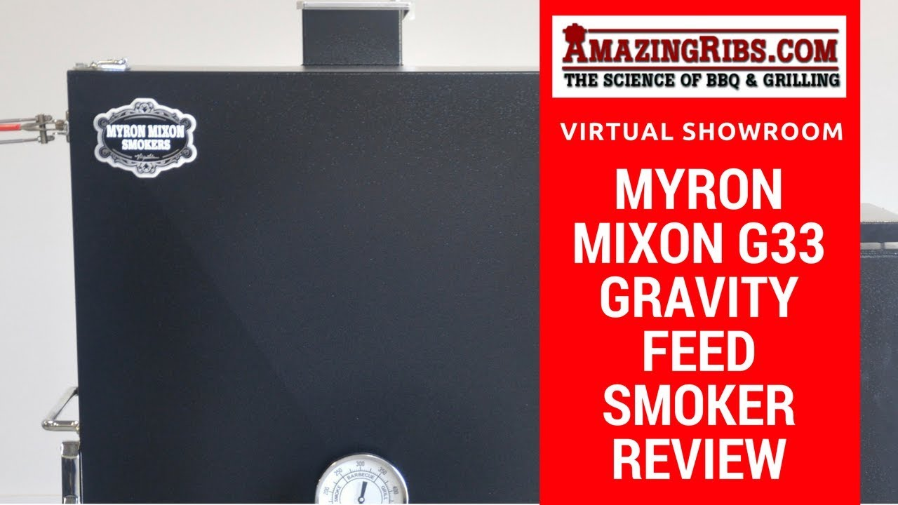 Myron Mixon G33 Gravity Feed Smoker Review What You Need To Know