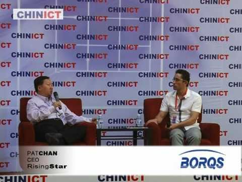 Borqs founder speaks at CHINICT.