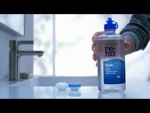 Bausch + Lomb renu fresh multi-purpose solution TV Ad @ SoftTouchLenses