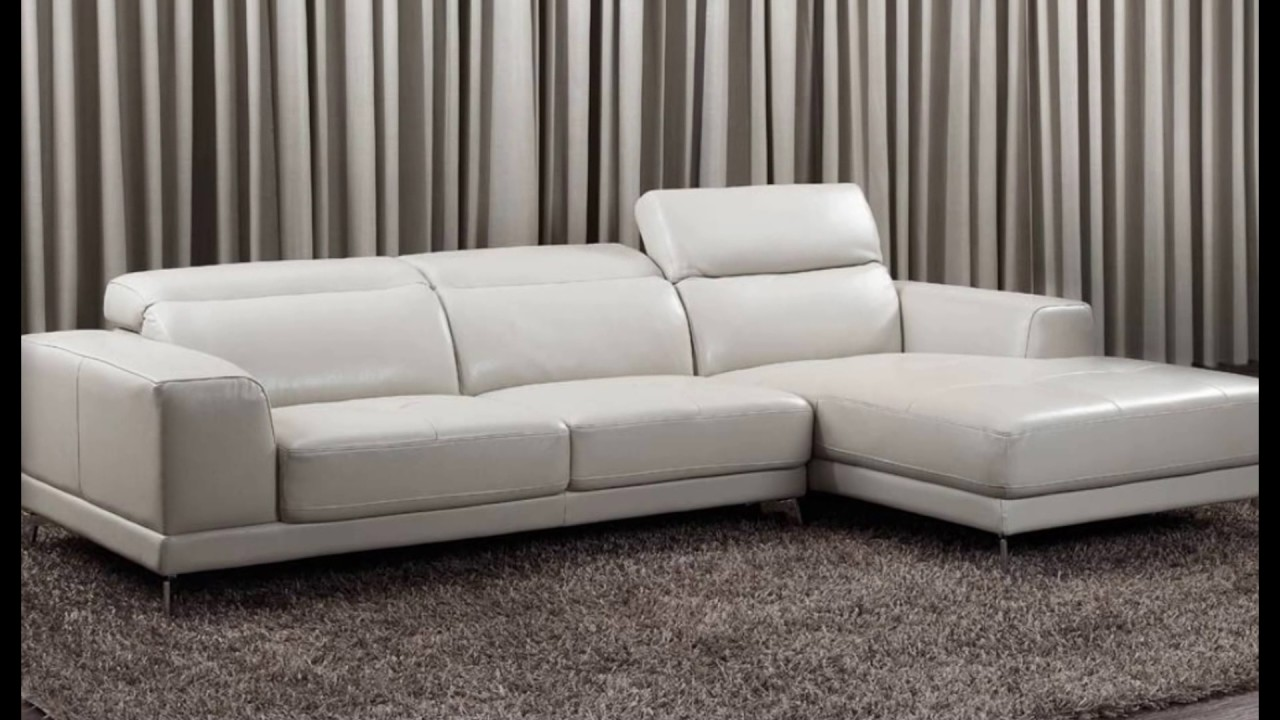 Small Leather Corner Sofas Youtube