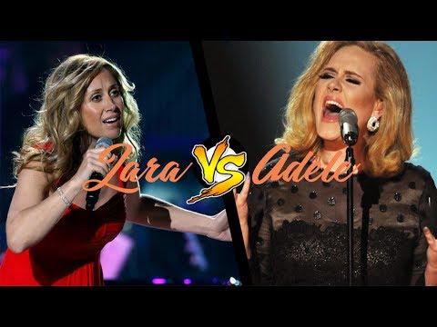 Adele vs Lara Fabian | Belting Battle (A4-E5)