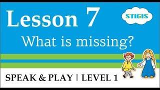 Урок английского языка для детей  //  Урок 7  Speak & Play