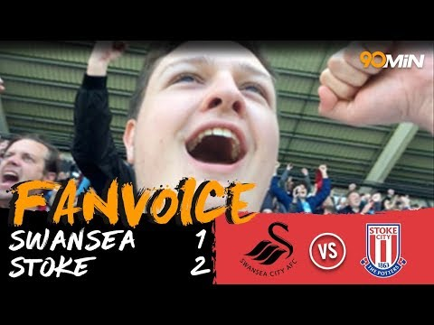 Swansea 1-2 Stoke | N'Diaye and Crouch goals mean Swansea lose 1-2 to Stoke! | 90min Fanvoice