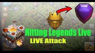TH11 IN LEGENDS LEAGUE Hitting Legends Live TH11 Push to Legends Clash of Clans