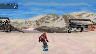 MTV Sports: Snowboarding PS1 Gameplay HD