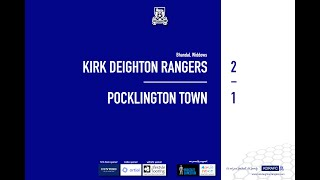 Pocklington Town Match Highlights