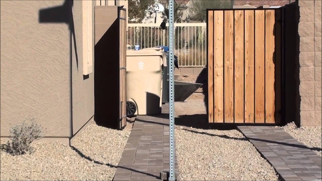 New Home Construction Fail Rv Gate Blocked By Pole Youtube