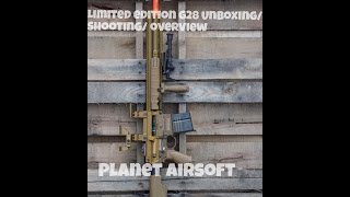 AIRSOFT LIMITED EDITION G28 OVERVIEW/ UNBOXING/ SHOOTING