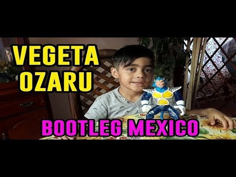 ► Vegeta Ozaru SSJ Dios Dragon Ball Super Figura Bootleg Mexico ◄ Fabio Bootleg