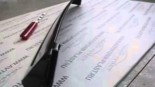 видео Задний спойлер на Ваз 2108