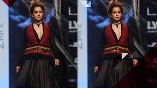 Kangana Ranaut Walks The Ramp For Lakme Fashion Week | Bollywood News