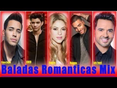 ♫ LATINO ROMANTICO HITS MIX 2017 Prince Royce, Shakira, CNCO, Maluma, Luis Fonsi EXITOS Romanticos