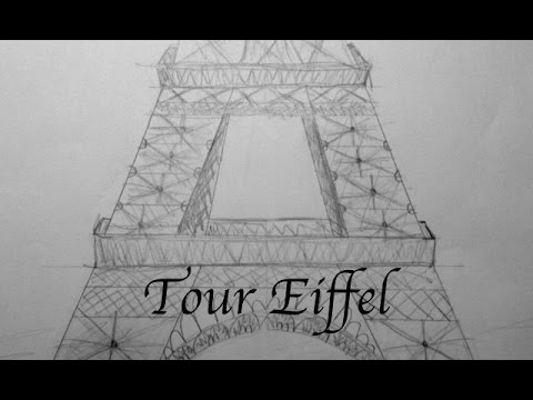 Comment Dessiner La Tour Eiffel Youtube