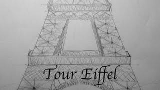 Comment dessiner la Tour Eiffel?