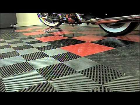 Racedeck Garage Floors Hometime Tv Show Harley Davidson Special