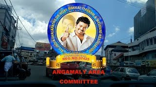 Kerala Flood Relief Promo Video Thalapathy Vijay Rice Distribution Angamaly Area Committee.