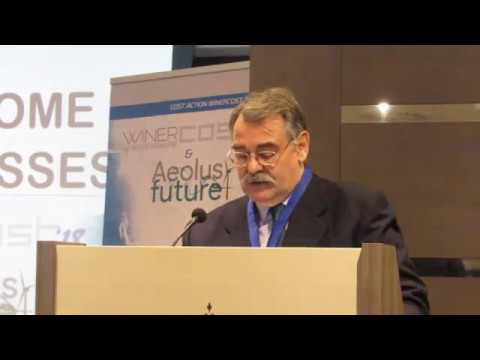 WINERCOST'18 - Opening and welcome address by Prof. C. Baniotopoulos