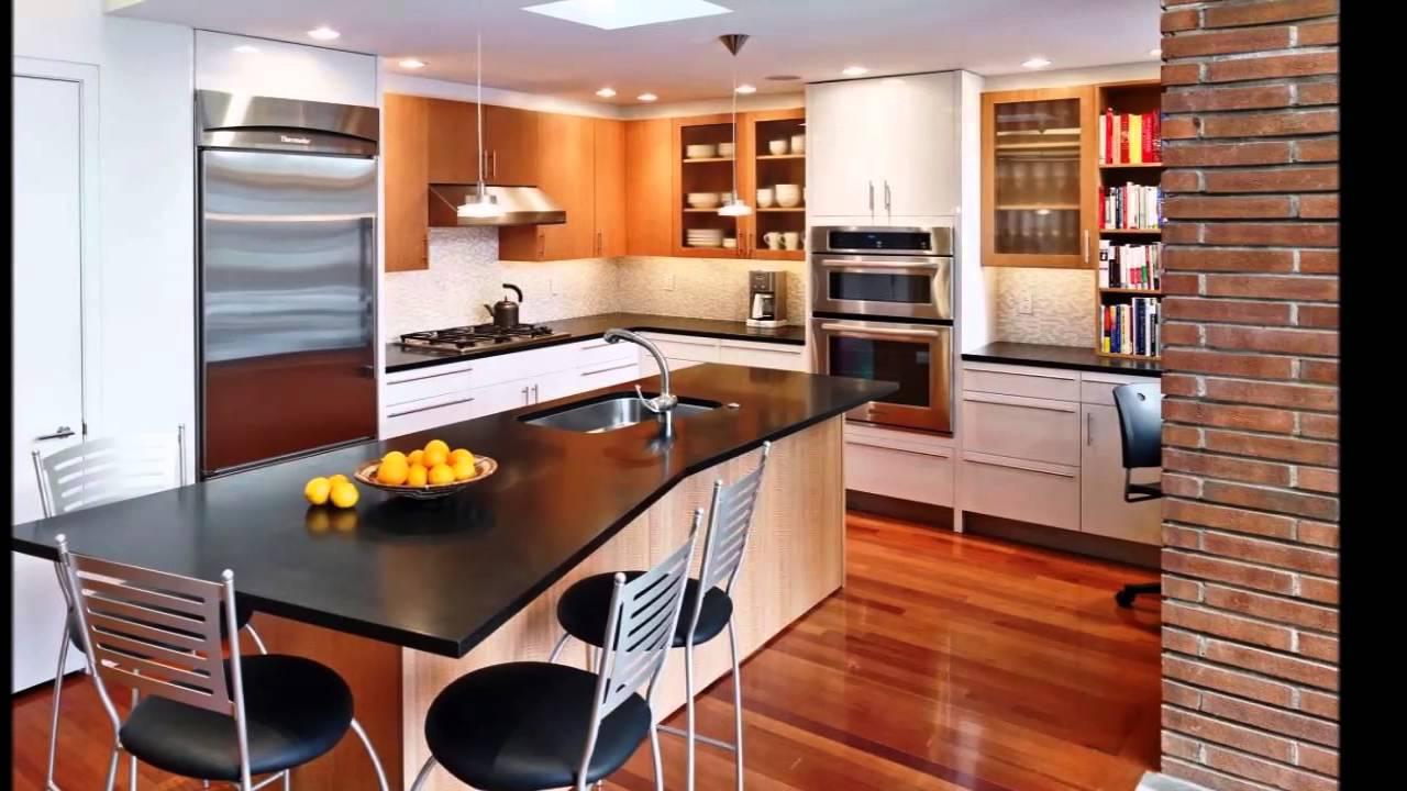 Cozinha Com Ilha Conceito Aberto Beyato Com V Rios Desenhos
