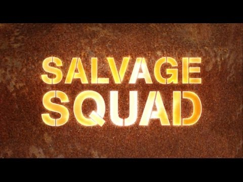 Salvage Squad Steam Boat