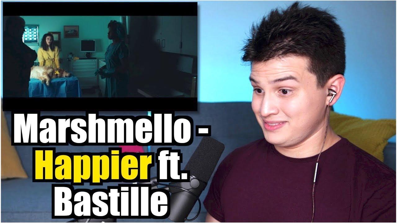 Vocal Coach Reaction to Marshmello ft. Bastille - Happier image