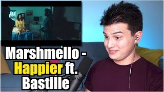 Vocal Coach Reaction to Marshmello ft. Bastille - Happier Mp3