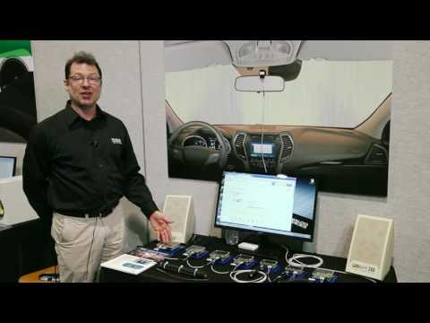 Automotive Audio Bus (A²B) Enables Efficient In-Car Communications