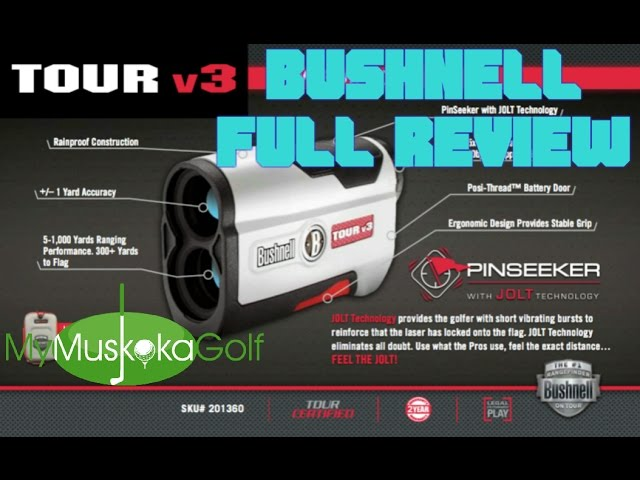 Bushnell+Tour+V3+Jolt+Standard+Edition+Golf+Laser+Rangefinder