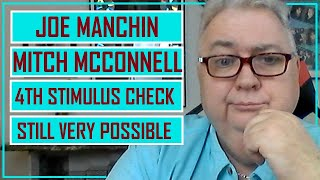 THIS MUST HAPPEN BEFOR WE GET A STIMULUS CHECK   JOE MANCHIN   MITCH MCCONNELL