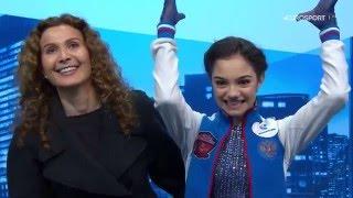 Evgenia Medvedeva - LP Worlds 2016 (EUROSPORT RU)
